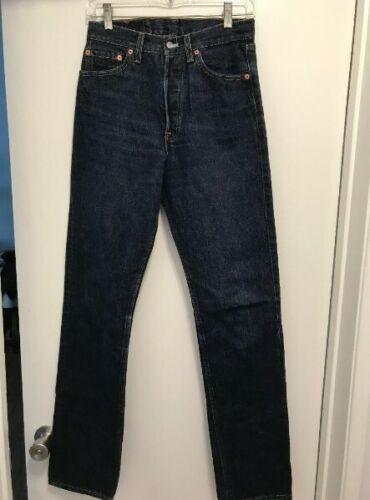 getailleerde 28 Red Levis 501 denim 34 hoog Tab Blue Dames Jeans Levi's Vintage hdCtQxBrs