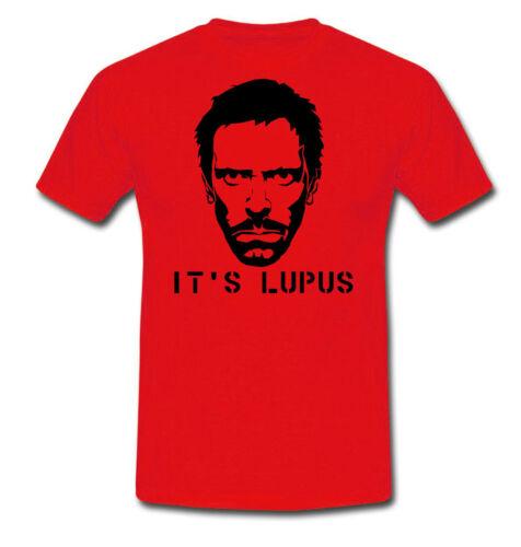 T-shirt uomo Dr House Medical Division inspired it/'s Lupus scegli il colore!