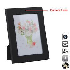 Home Black Photo Frame CCTV DVR Spy Camera Audio Video Hidden Camcorder 1280x960