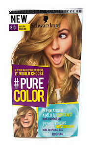 Pure Color By Schwarzkopf 80 True Blond 9000101212396 Ebay
