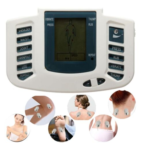Body Massager Tens Pulse Acupuncture Stimulator Muscle Relax Therapy USA Stock
