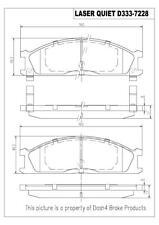 Dash4 MD511 Semi-Metallic Brake Pad