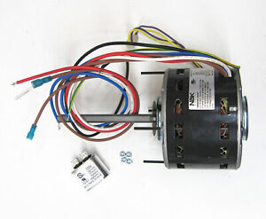 Details about Furnace Air Handler Blower Motor 1/4 HP 1075 RPM 230 on