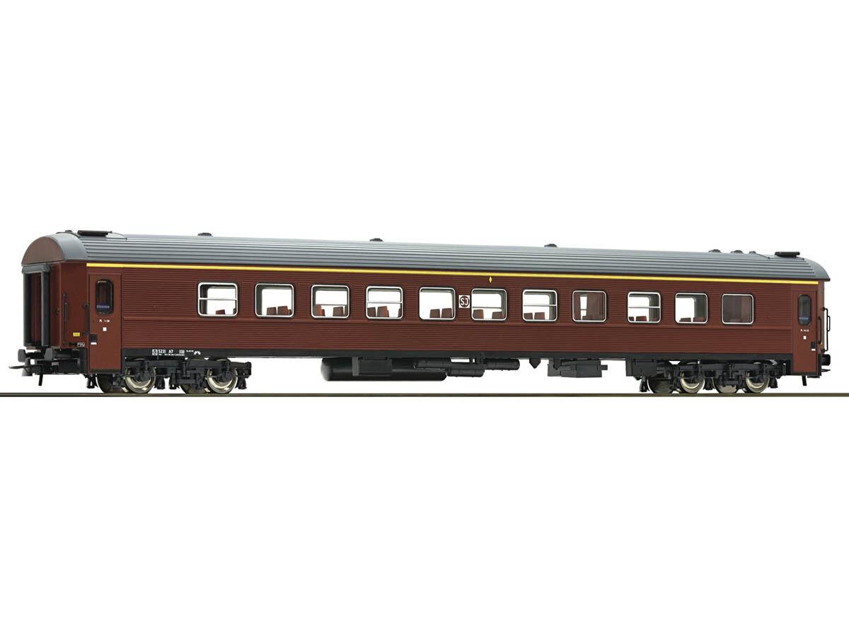 ROCO 74512 vagoni viaggiatori 1.kl. SJ h0