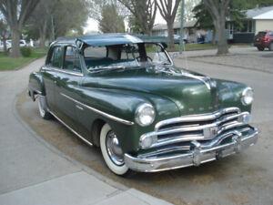 Classic 1950 Dodge 4 door Custom Gyro Matic