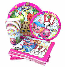 Nick Jr. Shopkins Birthday Party Express Pack for 8 guests (Plates,Cups,Napkins)