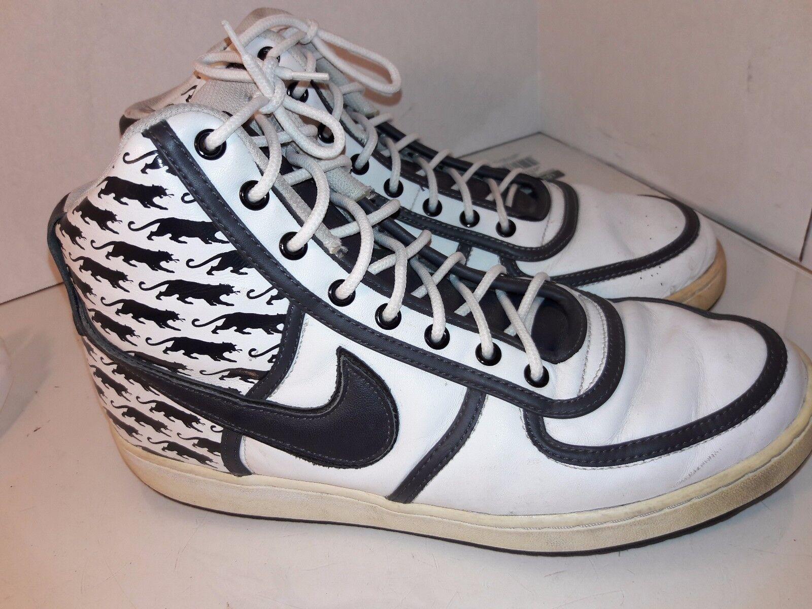 Nike Vandal High Philly Black Panthers, Black Fives 314878-101 Mens SZ 11.5