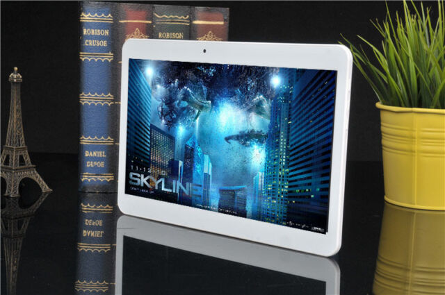 TheQ TP31 3G Quad-Core Telefon Tablet PC 10,1 Zoll 48GB Dual Sim Handy Weiß NEU