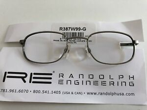 USA-Pilotenbrille-Randolph-Engineering-48-140mm-R387W99-G-Pewter-Frame-350