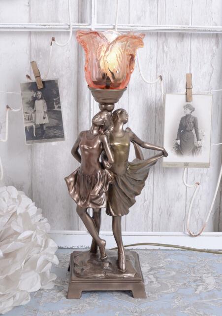 Lumière Art Déco Danseuse Lampe de Table Vintage Lampe de Table Lampe de Chevet