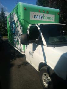 2010 Chevrolet ETV cube Cutaway Box truck 225000km