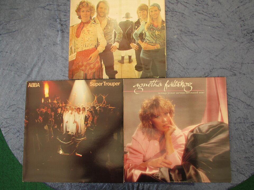 LP, ABBA/AGNETA FÄLTSKOG, 3 STK.. LP
