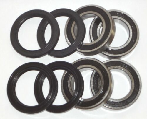 Both Yamaha YFM400 Big Bear IRS Front Wheel Bearing and Seal Kit 2007-2012