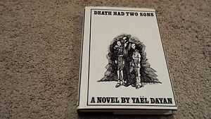 Death-Had-Two-Sons-a-Novel-by-Yael-Dayan-Hardcover-with-Dust-Jacket-1967