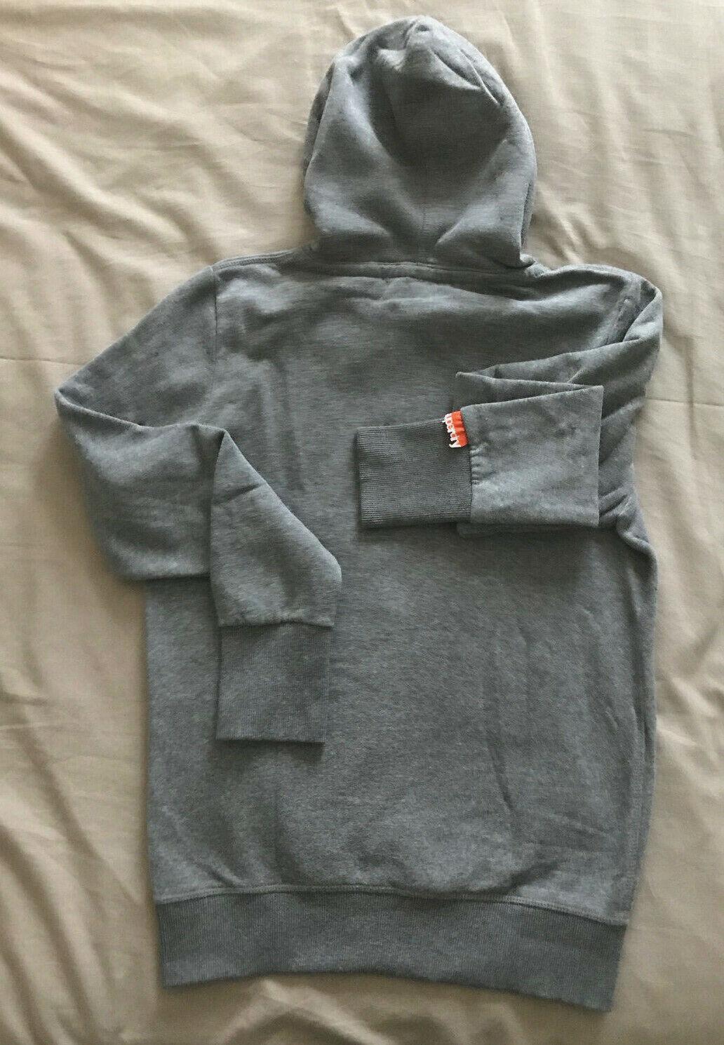 SUPERDRY Sweat shirt à capuche Hooded sweatshirt Gris Grey T S