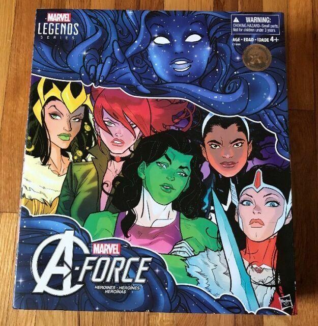 2016 SDCC//TRU Marvel Legends A-Force Heroines Set She-Hulk Loki Sif Monica