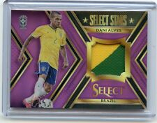 "2015-16 SELECT SOCCER #ST-DA DANI ALVES ""PURPLE PRIZM"" PATCH SP #9/25, BRAZIL"