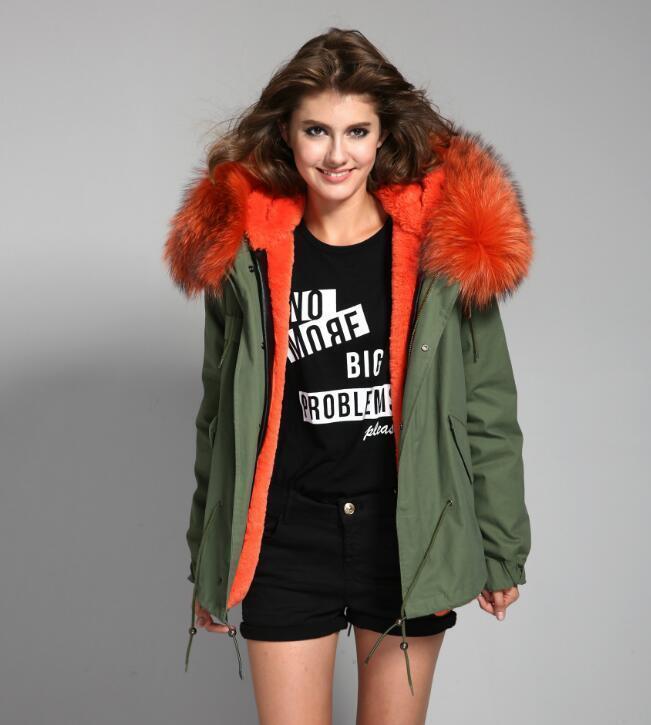 Luxury ColGoldt Hood Extra BIG 100% REAL FUR Coat Jacket Parka 8 Farbes