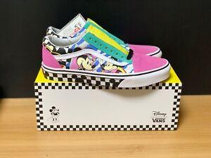 New-Mens-VANS-X-DISNEY-Mickey-Old-Skool-School-Pink-VN0A38G1UJE-Shoes-Sneakers