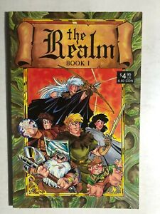 THE-REALM-Book-One-1987-Arrow-Comics-TPB-1st-FINE
