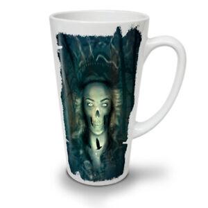 Dead Mystic Skull NEW White Tea Coffee Latte Mug 12 17 oz | Wellcoda