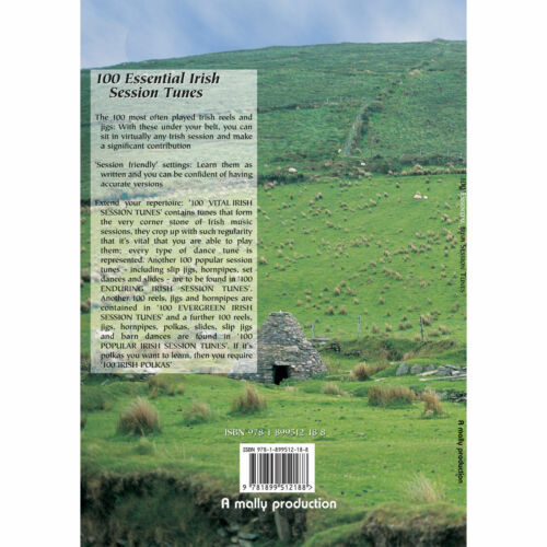 100 Essential Irish Session Tunes Book Only or CD only or Book and CD Together