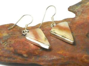 Imperial-JASPER-Sterling-Silver-925-Gemstone-EARRINGS-Gift-Boxed
