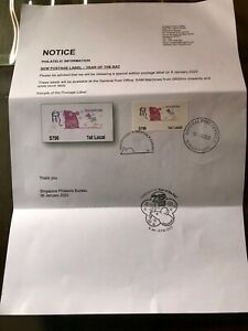 Singapore-2020-Rat-SAM-ATM-stamp-1st-day-on-SINGPOST-letter