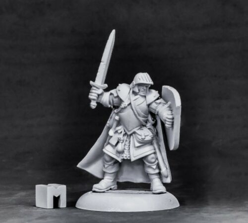 07002 Baran Blacktree REAPER MINIATURES DUNGEON DWELLERS Veteran Warrior