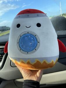 """RARE Rudy the Rocket 8"""" Squishmallow Space Squad Summer 2021 NWT"""