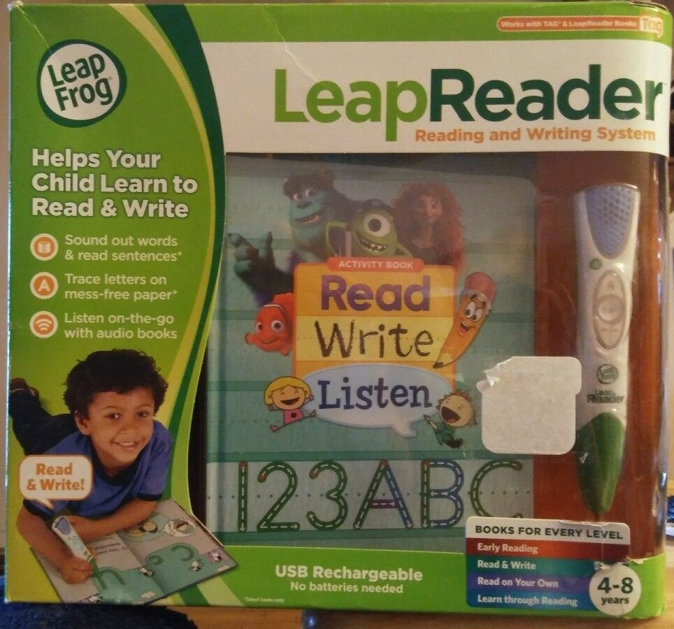 LeapFrog LeapReader Reading and Writing System, Green NEW SEALED