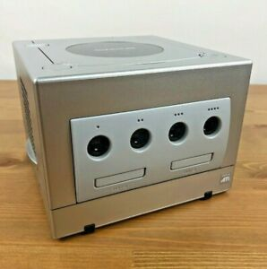 Nintendo-GameCube-DOL-101-Replacement-Silver-Console-Only-Tested-Working