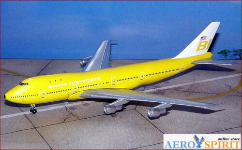 ** RARE ** Boeing B 747-100 Braniff International N999BB Big Bird 1:400 BB4-2004