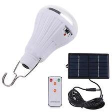 Cool White 20 LED SMD 2835 Bulb Camp Garden Lighting Remote Control Solar Light