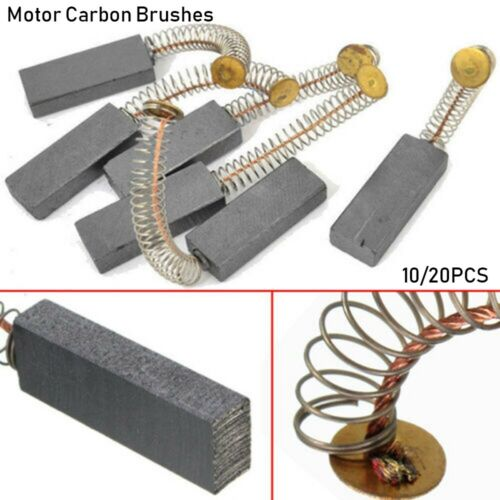 10//20 Pcs Mini Drill Electric Grinder Replacement Carbon Brushes Spare Parts