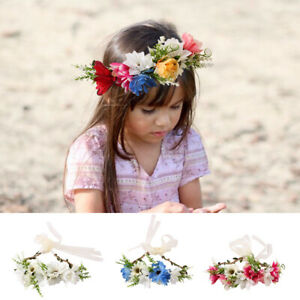 Baby-Flower-Headband-Newborn-Hairband-Garland-Headwear-Hair-Band-Accessories