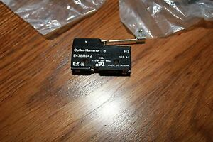 1-Cutler-Hammer-Micro-Limit-Switch-E47BML42-Extended-Roller-Lever