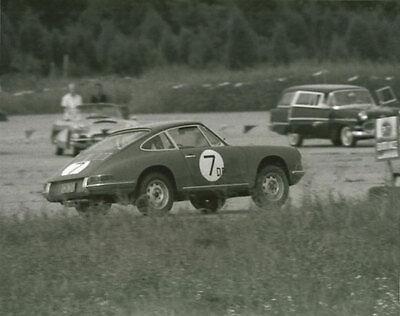 Vintage Color 8 X10 1965 SCCA Courtland Jim Watson Porsche RS Auto Racing Photo