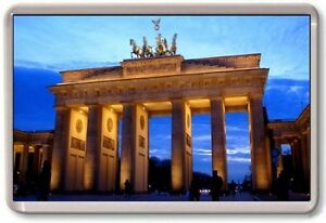 k hlschrank magnet brandenburg gate gro e jumbo berlin deutschland ebay. Black Bedroom Furniture Sets. Home Design Ideas