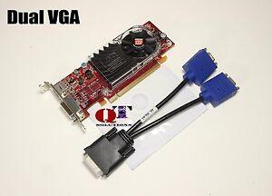 Video-Card-OptiPlex-VGA-Dell-Inspiron-Compaq-ThinkCentre-Vostro-Half-Height-SFF