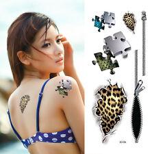 3D Tatuaggio Temporaneo 19x9cm resistente all'acqua New Collezione (3D-06)