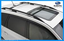 2014 - 2017 Subaru Forester Genuine OEM Areo Cross Bars Roof Rack E361SSG000