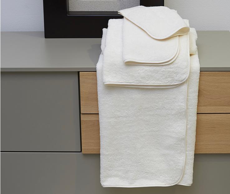 Signoria Firenze Luxury Towel Hand Towel Towel Towel - Weiß - Set of 4 298611