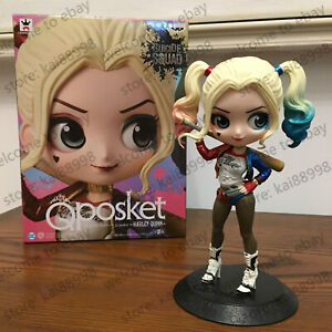 Q POSKET HARLEY QUINN SUICIDE SQUAD FIGURE 15cm New in Box