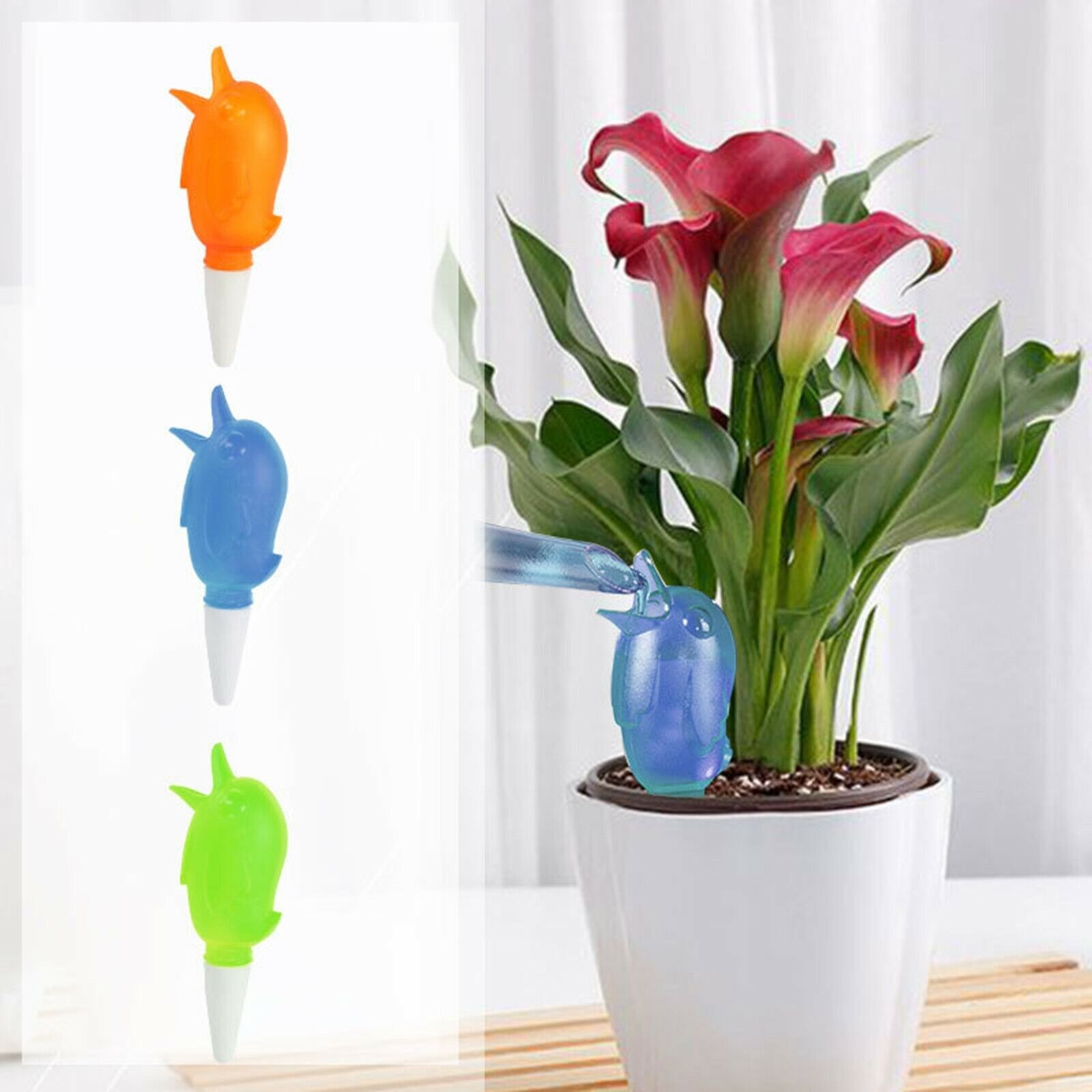 1pcs Cute Bird Shape Plant Potted Flowers Automatic Watering Plant Water Dispens
