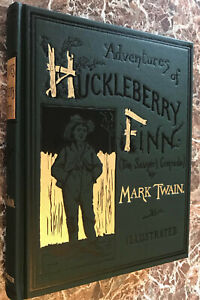 Adventures-of-Huckleberry-Finn-BEST-Facsimile-of-1885-First-Edition-Mark-Twain