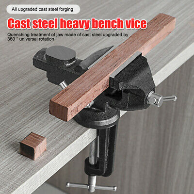 MINI VICE WITH TABLE CLAMP Workbench//Desk Small Craft Hobby Model Maker Tool