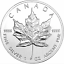 2011-5-FINE-SILVER-9999-1-oz-ARGENT-COIN-QUEEN-ELIZABETH-II-MAPLE-LEAF-CANADA thumbnail 2