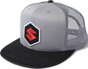 Factory Effex Suzuki Mark Snapback Hat -  Mens Lid Cap
