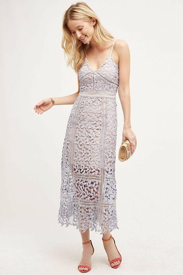 Anthropologie Celane Lace Dress by HD in Paris-Sz XS Small- MSRP